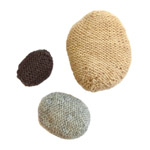 knitted pebbles pattern