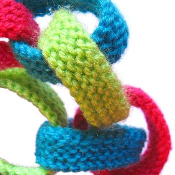 Oddknit Free Knitting Pattern Paper Chain