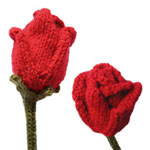 roses knitting pattern