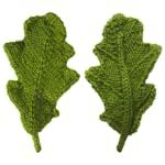 free oak leaf knitting pattern